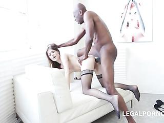 skinny white bitch loosing