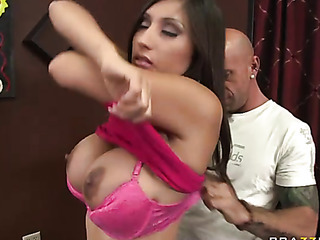 dog-loving brunette fucking sweet
