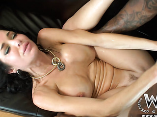 dark haired milf with