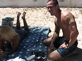 white boy getting tan