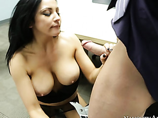 gorgeous raven with huge