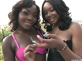 big breasted ebony black