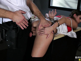 policeman fucked busty pigtailed