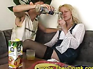 fucking drunk chick