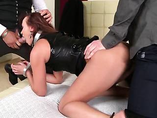 ballgagged sex slave fucked