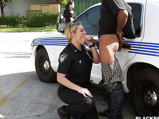two slutty police officers