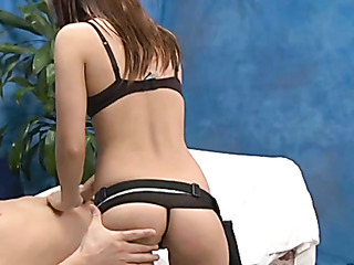 brown haired chick g-strings