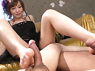 kinky asian feet fuck