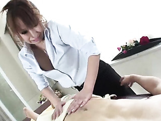 gorgeous japanese massage fuck