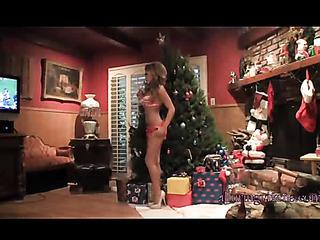 slim sexy christmas lingerie
