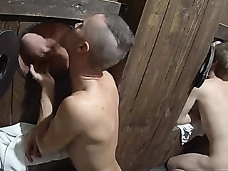 horny czech glory hole