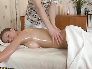 oil massage naughty orgasm
