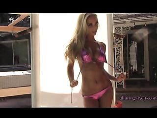 beautiful perfect body blonde