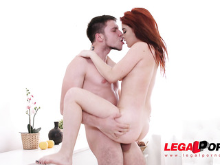 fiery redhead's wonderful fuck