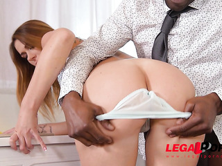 milf bent and gets