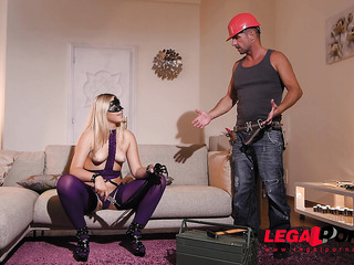 paying the plumber with