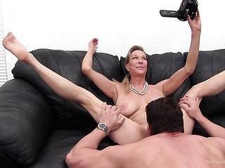 mature woman's wild backroom