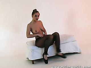 silvie the nude ballerina