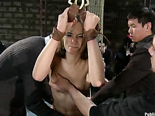 amber rayne gets double