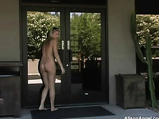 alison angel gets naughty