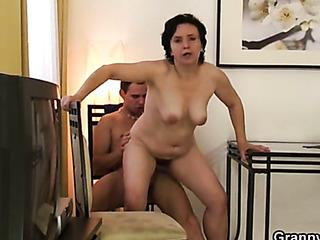 mature sex and facial