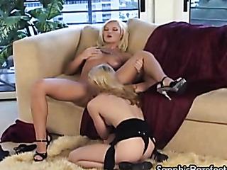toe sucking blondes