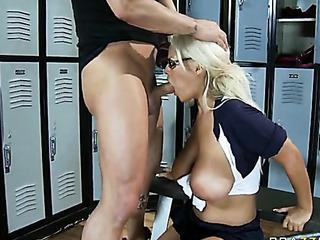 locker room romp