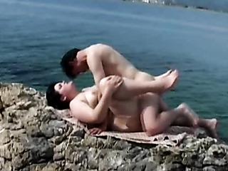 arab couple enjoying