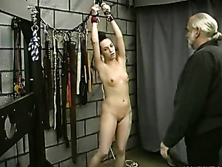 slave's body covered with