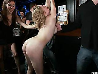 slut fucked bar