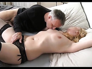 horny blonde milf with