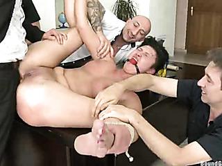 exotic secretary gets punished