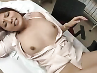 slutty asian nurse squirting