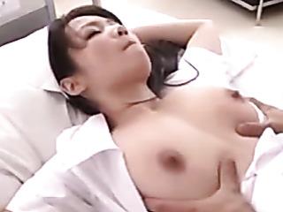 bootylicious japanese nurse takes