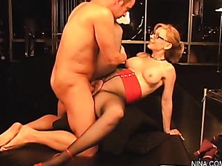 horny sexy mama red
