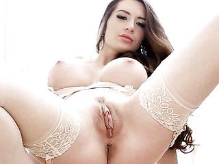 very hot brunette sexy