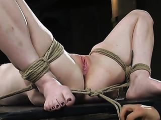 blonde sweetie bondage wants