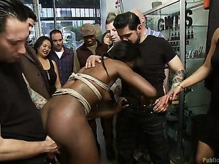 ebony bitch with plaits