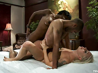 tied black man gets