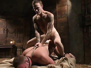 bound gay god gets