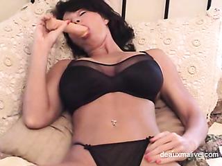 hot mom black underwear