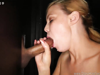 this tall blonde gets