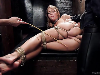 blonde bimbo bondage gets