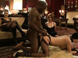 super hot interracial bondage