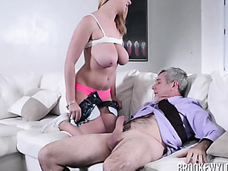 after sucking the cock