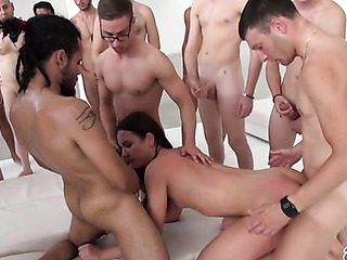 absolutely messy fucking orgy