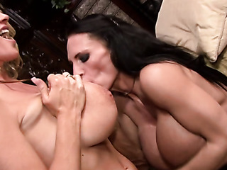 two naughty milfs play